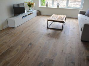 Rustieke houten vloer