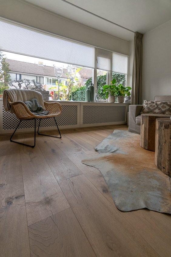 Rustieke naturel vloer