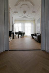 Smalle visgraat vloeren