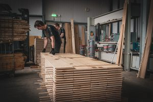Sorteren van houten vloeren