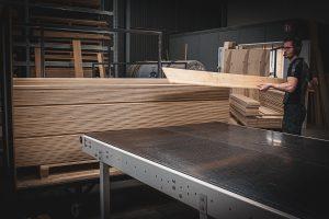Uit sorteren houten vloeren