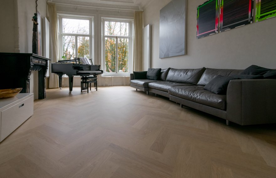 Visgraat vloer 12x60