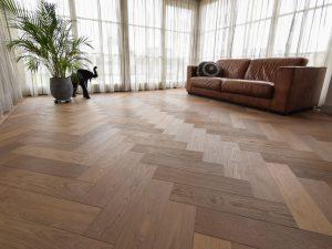 Visgraat vloer Groningen