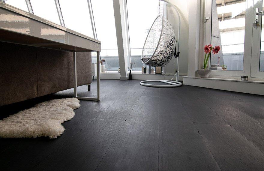 Zwarte vloer Rotterdam
