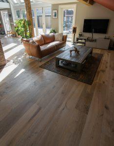 Duoplank vloer geschikt voor vloerverwarming
