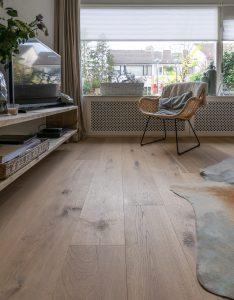 Houten duoplank vloer Drachten