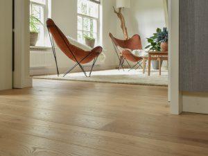 Houten planken vloer Friesland