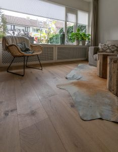 Houten vloer naturel geolied