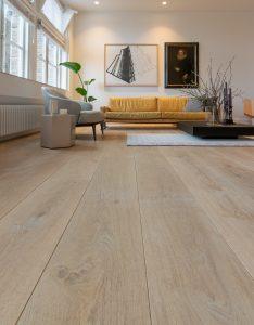 Lichte houten vloer Amsterdam