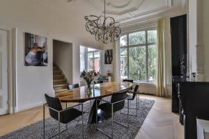 Traditionele eiken visgraat vloer Groningen