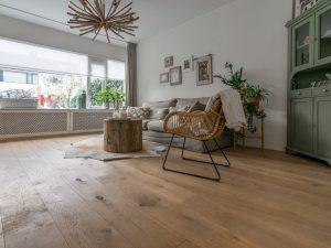 Transparant witte vloer