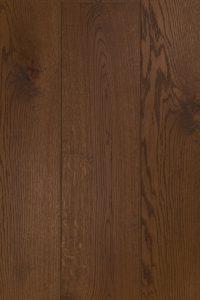 Ultraviolette houten vloer bruin geolied