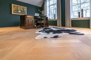 Visgraat vloer Heerenveen