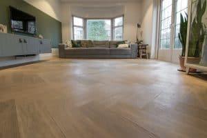 Visgraat vloer Hoorn 16 x 80