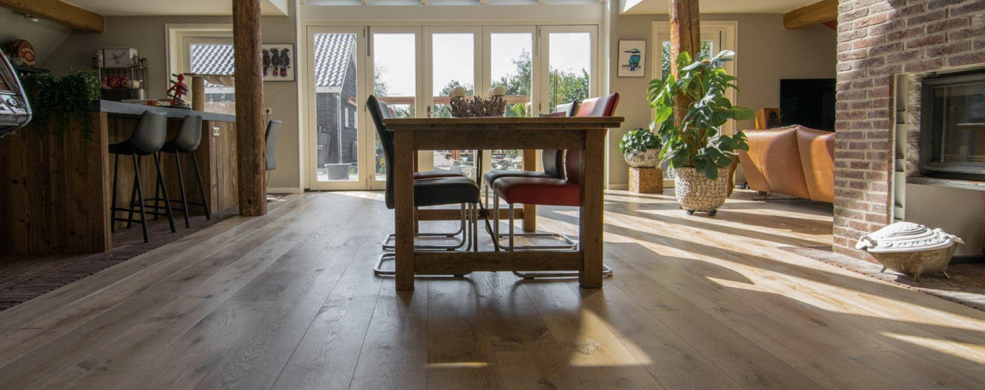 Is een houten vloer geschikt voor kinderen