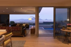 Houten vloer Zuid-Afrika