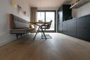 Plankenvloer Meerstad in keuken