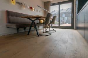 Plankenvloer Meerstad keuken