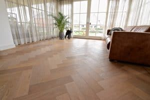 Visgraat vloer Franeker kleurnuances