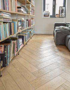 Visgraat vloer zonder noesten Amsterdam