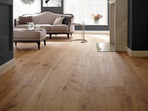 Warme naturel houten vloer