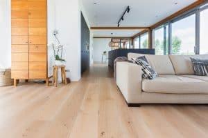 Plankenvloer geplaatst in Leeuwarden