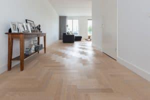 Elleboog houten vloer