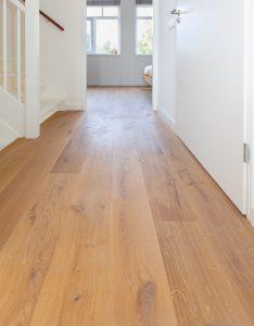 Naturel houten vloer Groningen