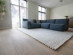 Onopvallende houten vloer