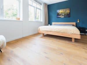 Plankenvloer slaapkamer