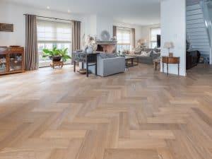 Visgraat vloer Noordwijkerhout