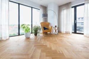 Visgraat vloer semi tapis Leeuwarden