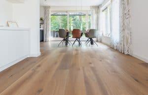 Eiken houten vloer in Haren