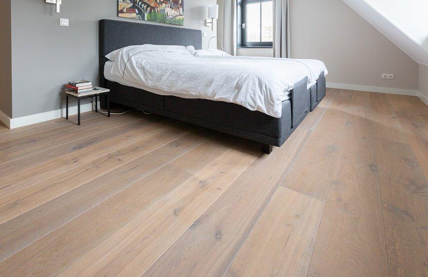 Exclusieve slaapkamer vloer