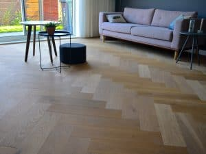 Visgraat patroon of rechte planken?