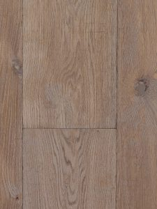 Getrommelde donker gerookte houten vloer