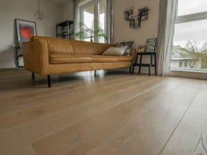 Houten vloer in een appartement