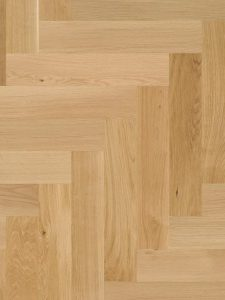 Lichte parketvloer zeer geschikt voor op vloerverwarming.