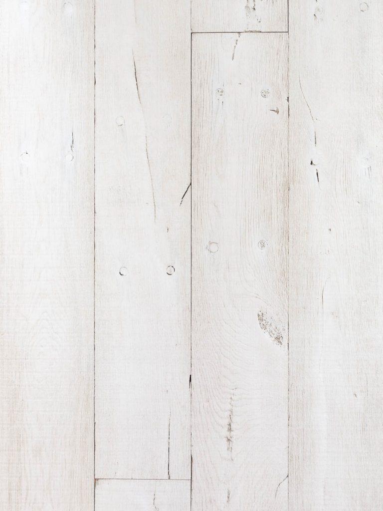 Stoere witte eiken vloer