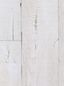 Stoere witte eikenhouten vloer