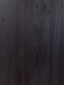 Zwarte oude eikenhouten vloer