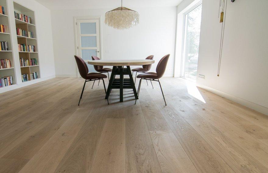 26 cm brede houten vloer