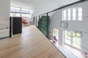 Plankenvloer eerste verdieping
