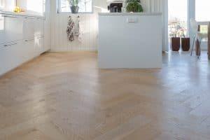 Visgraat vloer Schagen