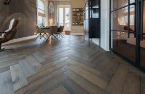 Eiken duoplank vloeren op vloerverwarming