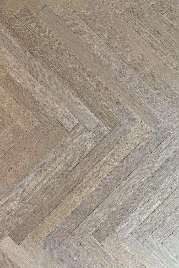 Slimbone visgraat vloer