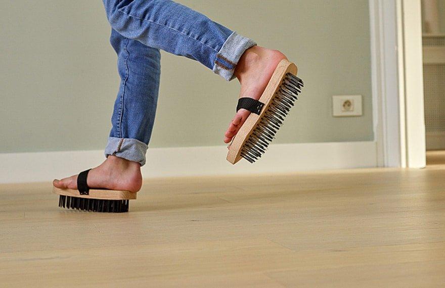 Sterk en krasbestendige vloer
