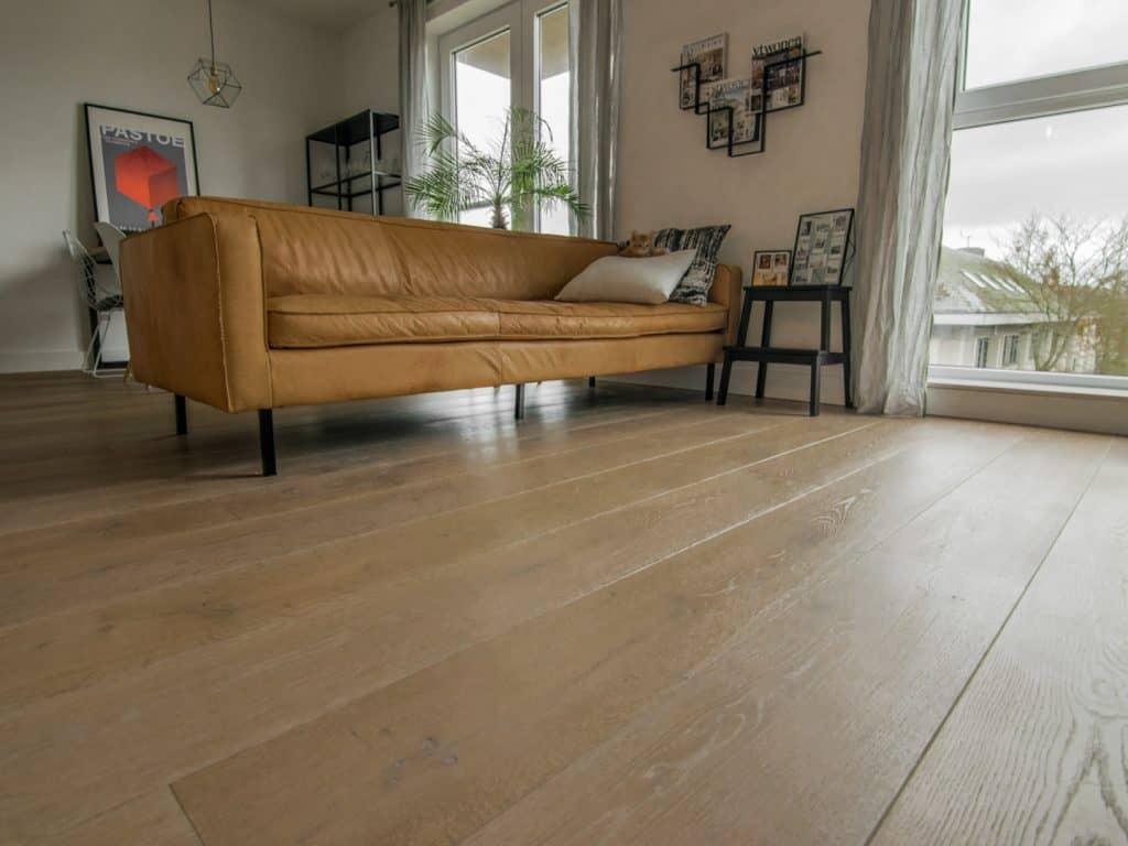 Hardwax houten vloer